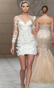 cheap sexy a line v neck short lace beach wedding dress online sale