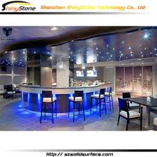 commercial bar lighting. Translucent Light Blue Led Lighting Artificial Marble/stone Solid Surface Outdoor Bar Counter Commercial