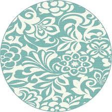 light teal rug round teal rug 8 round fl aqua indoor outdoor rug garden city light