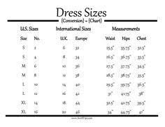 12 Best Size Chart Conversion Images Size Chart Clothing