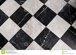 Black And White Flooring Black And White Marble Tiles Royalty Free Stock Photos Image