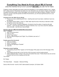 Word Document Mla Format Everything You Need To Know About Mla Citation