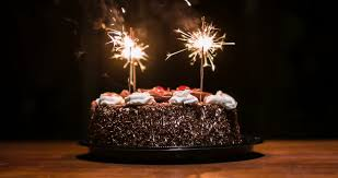 happy birthday chocolate cake with candles. Chocolate Cake With Candles To Vidos De Stock 100 Libres Droit 12761042 Shutterstock For Happy Birthday
