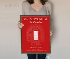 Horseshoe Osu Seating Chart Ohio State Buckeyes Ohio Stadium Seating Chart Ohio State