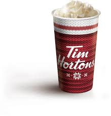 tim hortons red warmwishes cup