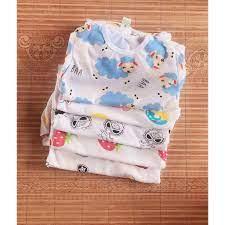 Hàng mới- Bộ đồ cotton hình cho bé trai/bé gái-bộ đồ sơ sinh cộc tay mùa  hè-sét sơ sinh-bộ quần áo mùa hè cho bé giá cạnh tranh