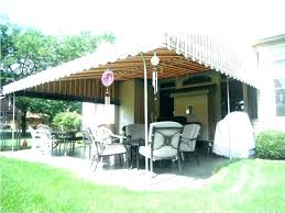 diy patio canopy deck awning post outdoor