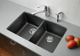 Blanco Silgranit Kitchen Sinks  Contemporary  Kitchen  Houston Blanco Undermount Kitchen Sink