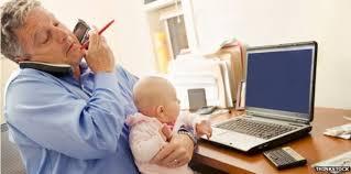 home office multitasking.  office multitasking man throughout home office