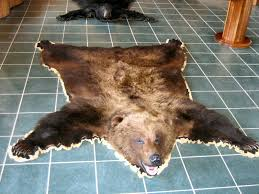 black bear rugs brown bear rugs
