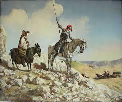 great madman don quixote by ilyas phaizulline russian painter