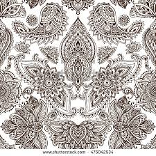 Henna Pattern Custom Henna Tattoo Download Free Vector Art Stock Graphics Images