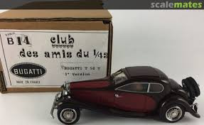 How to make bugatti chiron rc cardboard /with automatic door. Bugatti Type 50 T Ami Du 43 14