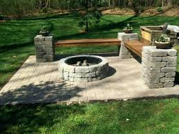 stone fire pit ideas. Lowes Stone Fire Pit Best Ideas On Projects At Outdoor Kits Backyard