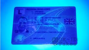 Card Large Provisional Id Fake Uk