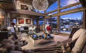 Ski chalet furniture Cool Expedia Stunning French Luxury Ski Chalet Overlooking The Mountains 4