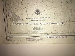 Nantucket Sound Marthas Vineyard Cape Cod Nautical Chart