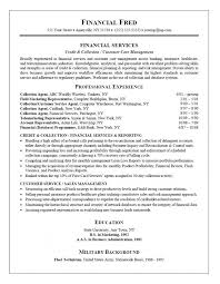 Collection Specialist Resume