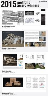 Work Portfolio Undergraduate Portfolio Winners College Of Architecture