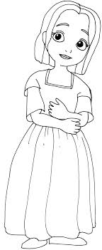 Sofia The First Coloring Pages Jade