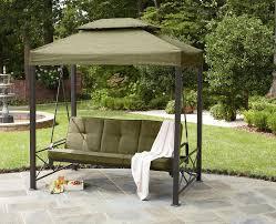 stunning patio swings garden oasis 3 person gazebo swing limited availability lysogaz