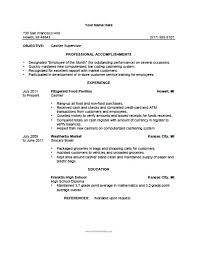 Resume Grocery Store Cashier Resume Skills