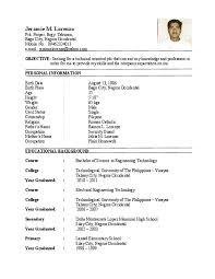 Application Letter For Ojt Tourism Student Platinum Class Limousine