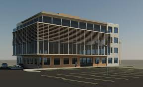 office exterior design. Office Exterior Design. Rendering Design A