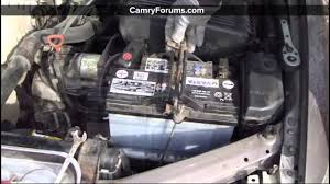Toyota Camry How to Replace the Battery - YouTube