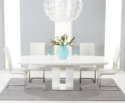 impressive chairs ideas dining room magnificent white white high gloss dining table with multi coloured chairs