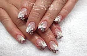 French Gel Nail Designs Red French Gel Nail Polish Nails Nail Designs Manicure