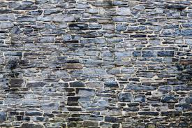 how to build mortared stone walls