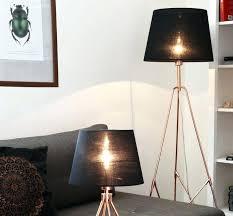 floor lamp shades black paper