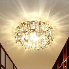 crystal semi flush mount gold semi flush ceiling light lighting design ideas empire collection light gold crystal semi flush mount