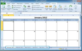 microsoft excel calendar how to create a calendar in excel