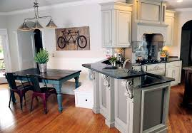 Painting Kitchen Cabinets Blue Modern Style Blue Grey Painted Kitchen Cabinets Which Color Of