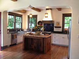 image of old style reclaimed wood kitchen island designs ideas