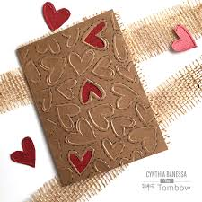 diy valentine card for him