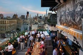 Full Image for Top Rooftop Bar Nyc The Best Rooftop Bars In New Traveller  Banister Banquette ...
