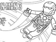 Lego Iron Man Coloring Pages At Getdrawingscom Free For Personal