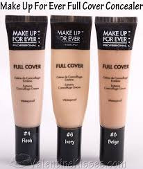 makeup ideas makeup forever full cover concealer swatches xoxovalentinekissesxox make up for