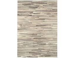 gaucho light grey stripe rug