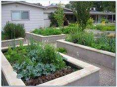 Small Picture Raised Garden Bed concrete block Concrete Raising and Gardens