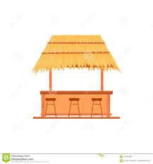 Tiki Bar Hut Stock Vector Illustration Of Illustration