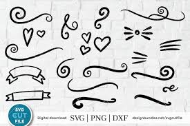 Here you'll find hundreds of high quality flourish transparent png or svg. Pin On Svg Cutting Files Cricut Silhouette Cut Files