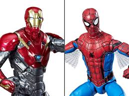 spider man homeing marvel legends