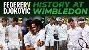 History Of Roger Federer v Novak Djokovic At Wimbledon | ATP Tour