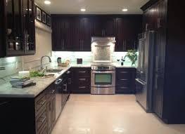 modern cabinet refacing. Chocolate Door Style Kitchen Modern Cabinetry Cabinet Refacing J