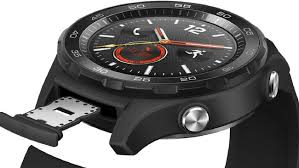 huawei watch 2 4g. the huawei watch 2 features a sim card tray hidden under its band. 4g