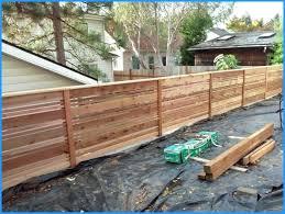 horizontal fence styles. Modern Wood Fence Horizontal Best Custom Style Cedar Of Popular And Trends . Styles